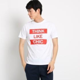 [マルイ]【セール】レッドロゴTシャツ/ザ ショップ ティーケー(メンズ)(THE SHOP TK Mens)