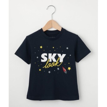 Tシャツ - THE SHOP TK 【100cm~150cm】「SKY ROCKET」Tシャツ