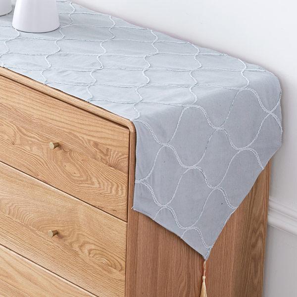時尚可愛空間餐桌布 茶几布 隔熱墊 鍋墊 杯墊 餐桌巾桌旗695 (30*120cm)