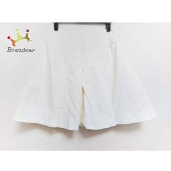 エムズグレイシー M'S GRACY ミニスカート サイズ40 M レディース 白         スペシャル特価 20200119