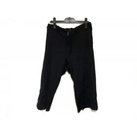 【中古】 ワイズ Y's パンツ サイズ2 M レディース 黒