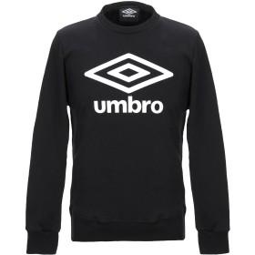《送料無料》UMBRO メンズ スウェットシャツ ブラック M コットン 100%