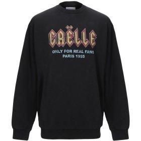 《期間限定 セール開催中》GALLE Paris メンズ スウェットシャツ ブラック M コットン 100%