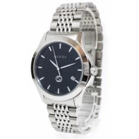 グッチ Gタイムレス クォーツ メンズ 腕時計 YA1264106 箱付(未使用 展示品)