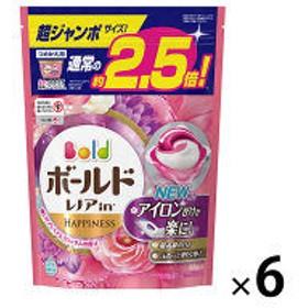 ボールド ジェルボール3D プレミアムブロッサム 詰め替え 超ジャンボ 1セット(6個:264粒入) 洗濯洗剤 P&G