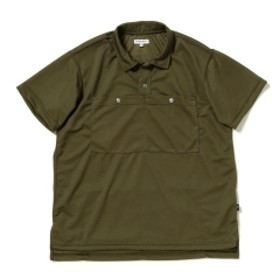ENGINEERED GARMENTS for Pilgrim Surf+Supply / Bike Polo メンズ ポロシャツ OLIVE M