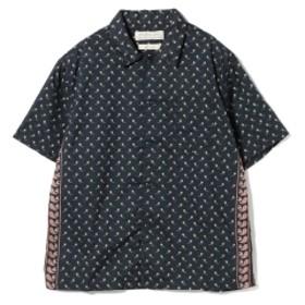 REMI RELIEF / バンダナ ペイズリーシャツ メンズ カジュアルシャツ Navy XL
