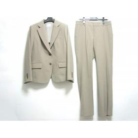 【中古】 ニジュウサンク 23区 レディースパンツスーツ サイズ46 XL レディース ベージュ