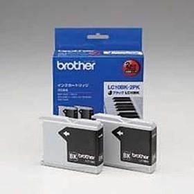 ブラザー [LC10BK-2PK] インクカートリッジ お徳用黒2個パック