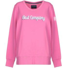 《セール開催中》BEST COMPANY レディース スウェットシャツ ピンク L コットン 100%