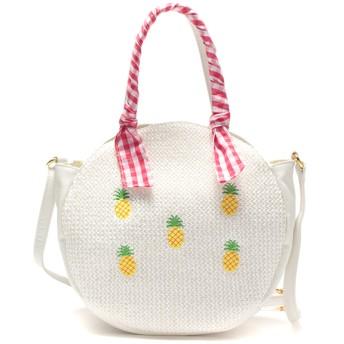 LIZLISAdollBambina リズリサドールバンビーナ 雑材2WAYショルダー シロ (女児)夏物 バッグ ファッション雑貨 208528