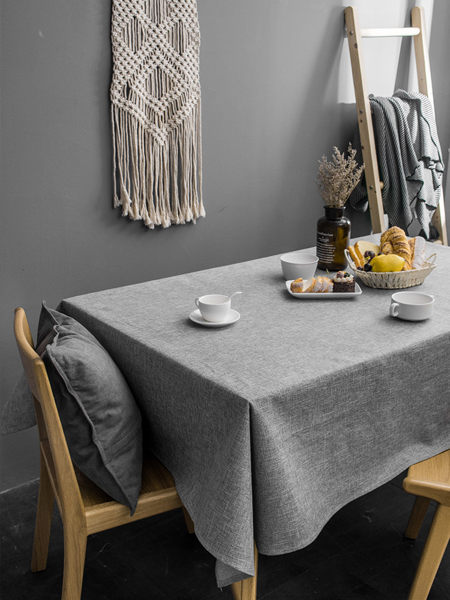 時尚可愛空間餐桌布 茶几布 隔熱墊 鍋墊 杯墊 餐桌巾693  (110*110cm)