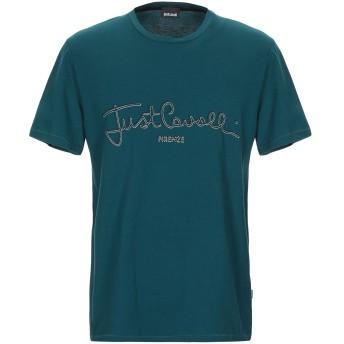 《期間限定セール開催中!》JUST CAVALLI メンズ T シャツ ディープジェード XS コットン 100%