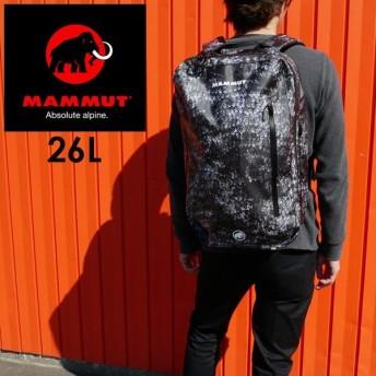 マムート MAMMUT セオントランスポーターバッグ 26L メンズ レディース 2510-04080-00283-1171 バックパック リュック 撥水加工 通勤 通学