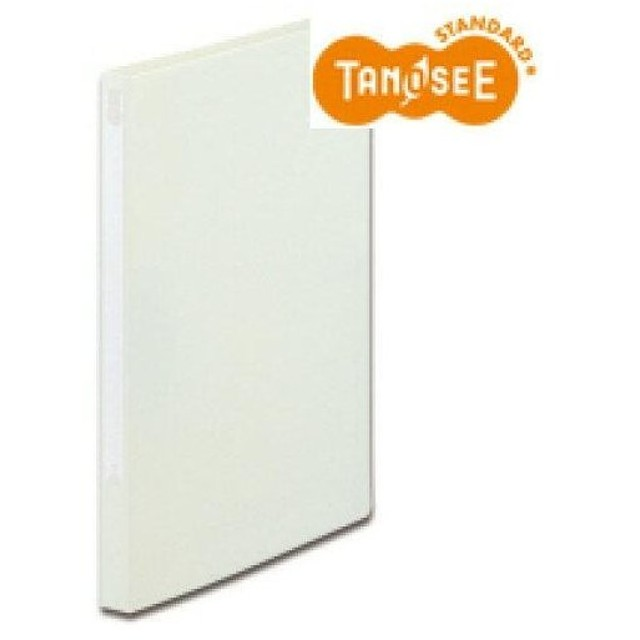 TANOSEE Zファイル(PP表紙) A4タテ 100枚収容 背幅20mm オフホワイト【入数:10】