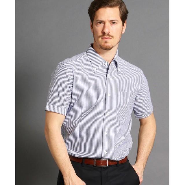 ムッシュニコル ボタンダウン半袖ドレスシャツ メンズ 91その他2 50(LL) 【MONSIEUR NICOLE】