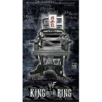 King of the Ring 2001 [VHS](中古品)