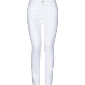 《セール開催中》YNOT レディース パンツ ホワイト 40 コットン 97% / ポリウレタン 3%