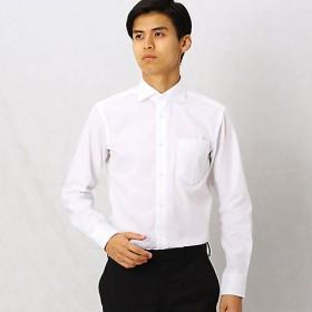 【SALE(三越)】<COMME CA MEN > 形態安定ホワイトドビードレスシャツ(0708HI04) ソノタガラ(52)【三越・伊勢丹/公式】