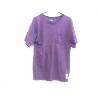 【中古】 チャムス CHUMS 半袖Tシャツ サイズS メンズ パープル
