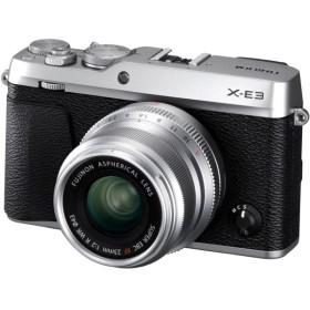 富士フィルム X-E3LK23F2-S シルバー X-E3 単焦点レンズキット [ミラーレス一眼カメラ(2430万画素)] デジタル一眼カメラ