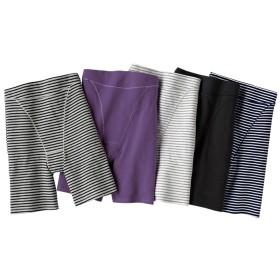 ベルーナ 【5色組】綿95%スッキリ引き締めパンツ 1 LL レディース