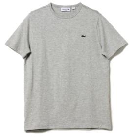LACOSTE / ロゴクルーネックTシャツ メンズ カットソー LT. GRAY/CCA 2