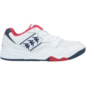 《期間限定 セール開催中》KAPPA メンズ スニーカー&テニスシューズ(ローカット) ホワイト 40 革 / ゴム