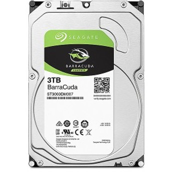 Seagate [ST3000DM007] Guardian Barracudaシリーズ 3.5インチ内蔵HDD 3TB SATA6.0Gb/s 256MB
