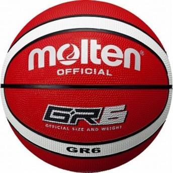 モルテン(Molten) バスケットボール6号球 GR6(レッド×ホワイト) BGR6RW