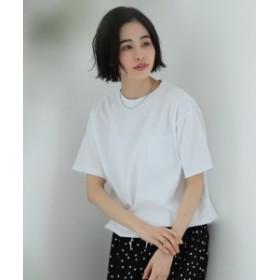 【WEB限定】BEAMS BOY / 天竺 ポケット Tシャツ レディース Tシャツ OFF WHITE ONE SIZE