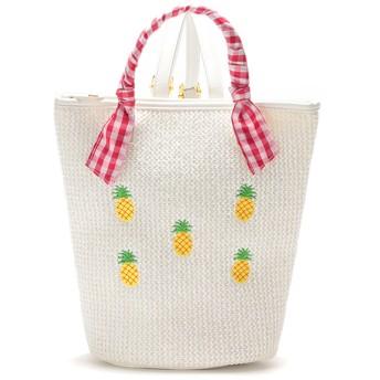 LIZLISAdollBambina リズリサドールバンビーナ 雑材リュック シロ (女児)夏物 バッグ ファッション雑貨 208529