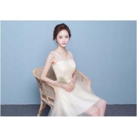 冠婚♪ウェディングドレス 結婚式 花嫁 二次会 パーティードレス  プリンセスライン ウエディングドレス ブライダル 素敵 ワンピース大き