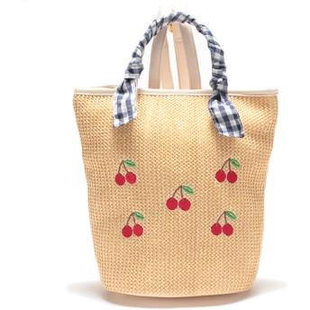LIZLISAdollBambina リズリサドールバンビーナ 雑材リュック ベージュ (女児)夏物 バッグ ファッション雑貨 208529