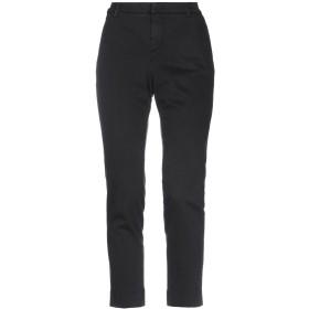《セール開催中》RE-HASH レディース パンツ ブラック 25 ポリウレタン 40% / 紡績繊維 28% / コットン 17% / エラストマルチエステル 12% / ポリウレタン 3%