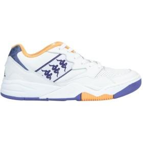 《期間限定セール開催中!》KAPPA メンズ スニーカー&テニスシューズ(ローカット) ホワイト 7.5 革 / 紡績繊維