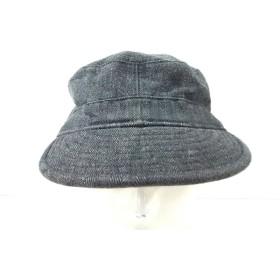 【中古】 ラルフローレンラグビー Ralph Lauren Rugby 帽子 S/M ダークグレー コットン