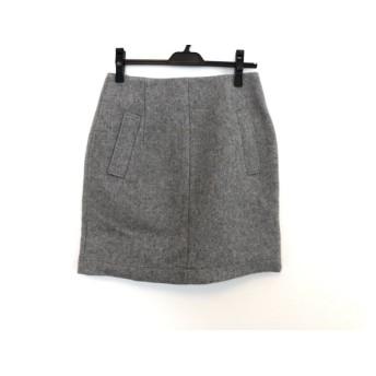 【中古】 イエナ スローブ IENA SLOBE スカート サイズ40 M レディース 美品 グレー