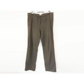【中古】 アルマーニコレッツォーニ ARMANICOLLEZIONI パンツ サイズ44 L レディース ダークブラウン
