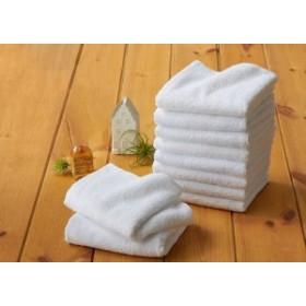 大阪泉州産業務用白タオル 12枚組 サイズ約34x84cm 1枚63g タオル 業務用(代引不可)