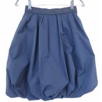【中古】 コトゥー COTOO バルーンスカート サイズ38 M レディース 美品 ネイビー