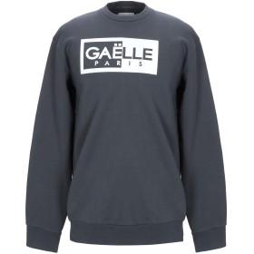 《期間限定 セール開催中》GALLE Paris メンズ スウェットシャツ 鉛色 L コットン 100%
