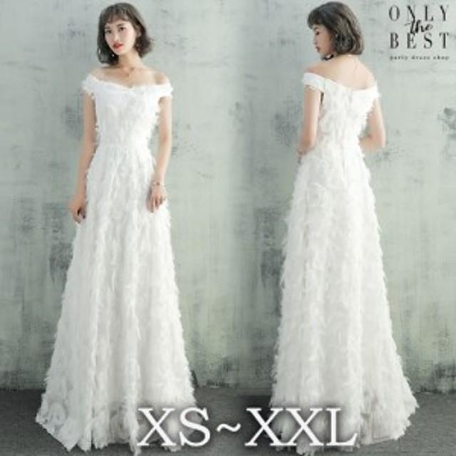 08734d9e4d0f9 激安 大人気 ウェディングドレス 白 二次会 花嫁 カラードレス 大きいサイズ ウェディング 白 ワンピース ドレス ロング