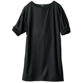 吸汗速乾UVカット5分袖チュニック (大きいサイズレディース)チュニック,plus size