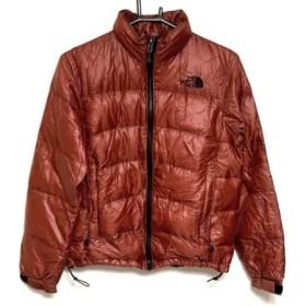【中古】 ノースフェイス ダウンジャケット サイズS レディース ブラウン 冬物/折りたたみ収納可