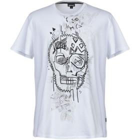 《期間限定セール開催中!》JUST CAVALLI メンズ T シャツ ホワイト S コットン 100%