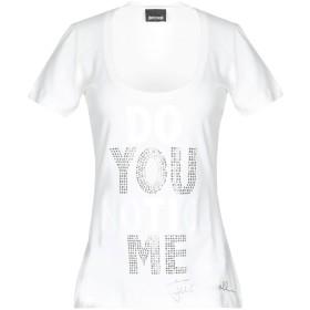 《期間限定セール開催中!》JUST CAVALLI レディース T シャツ ホワイト XXS コットン 100% / アルミニウム