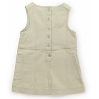 【シリリュス/CYRILLUS】ジャンパースカート 100サイズ 女の子【USED子供服・ベビー服】(376186)