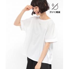 (LAKOLE/ラコレ)【汗ジミ軽減】マーセライズグラフィックTシャツ/ [.st](ドットエスティ)公式