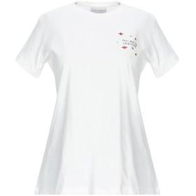 《期間限定セール開催中!》CHIARA FERRAGNI レディース T シャツ ホワイト S コットン 100%